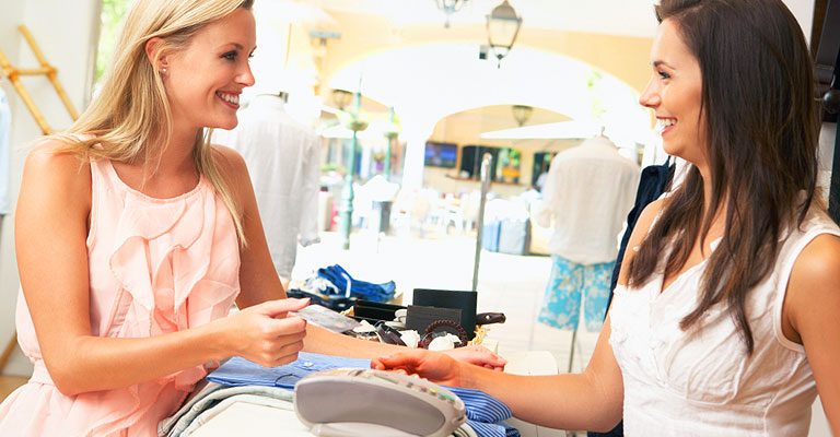 EPOS systems for all fashion retail - clothes shops, boutiques, department stores, shoe shops