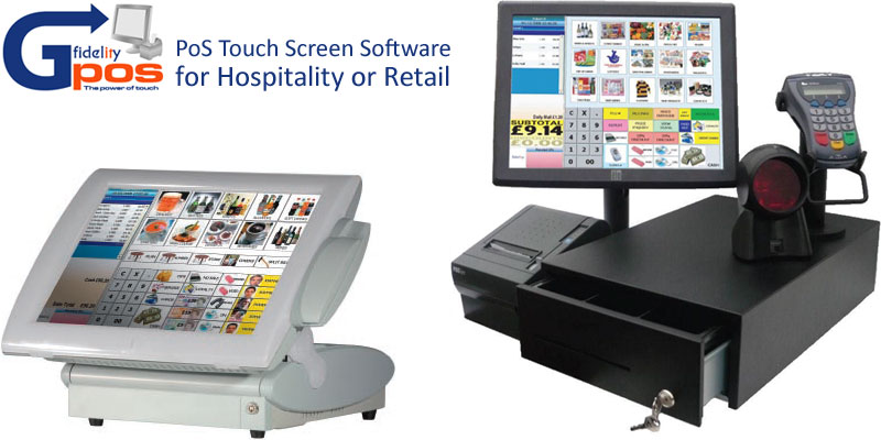 Fidelity GPoS - Touch Screen EPOS Point of Sale Software