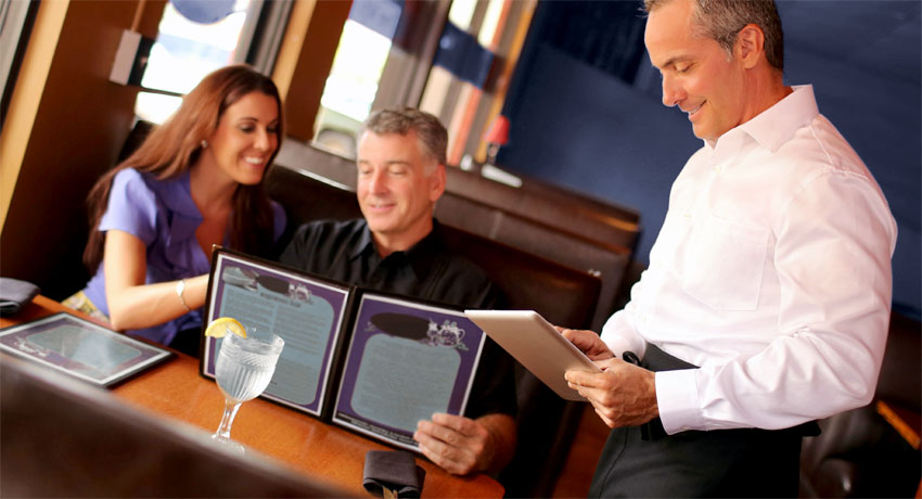 Handheld Ordering on Tablet or Smartphone for Restaurants and Cafes